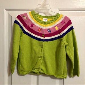 "EUC Gymboree ""Candy"" Sweater Sz 3T"